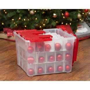 Ornament Storage Box (Set Of 2)