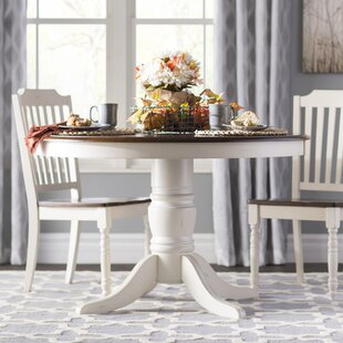 Round Kitchen Dining Tables Youll Love Wayfair - 44 inch round pedestal dining table