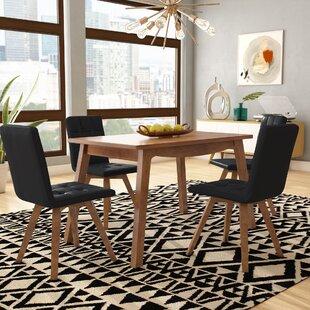 Wyckhoff 5 Piece Solid Wood Dining Set