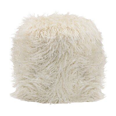 Knitted Ottoman Big W Cream Pouf Asda Cream Knitted Pouffe