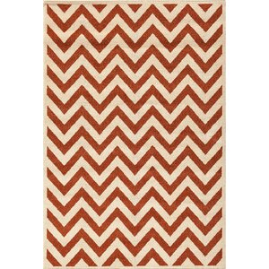 Darcy Bone/Clay Indoor/Outdoor Area Rug