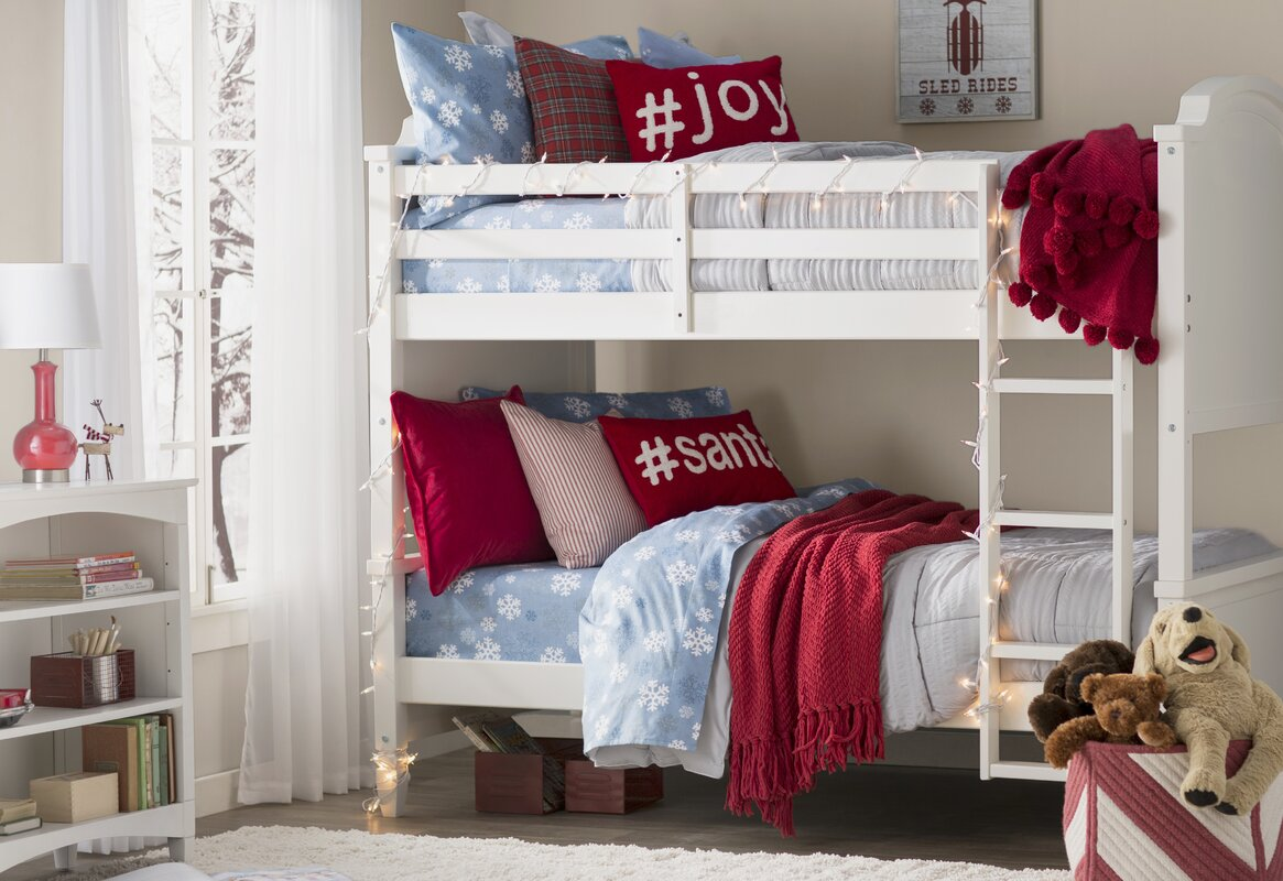 Viv Rae Arinna Twin Over Twin Bunk Bed Amp Reviews Wayfair