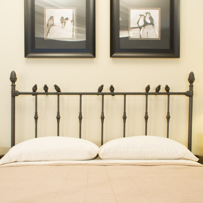 benicia foundry and iron works georgetown slat headboard & reviews