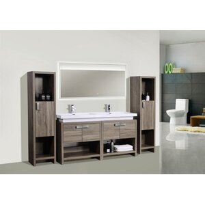 Haycraft 63 Double Bathroom Vanity Set