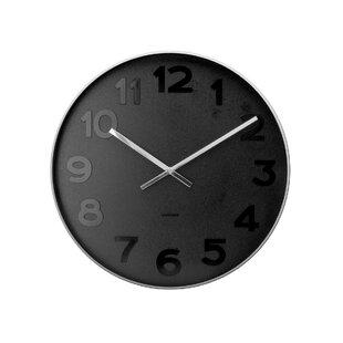 Perfect Mr. Black Numbers Wall Clock Nice Look