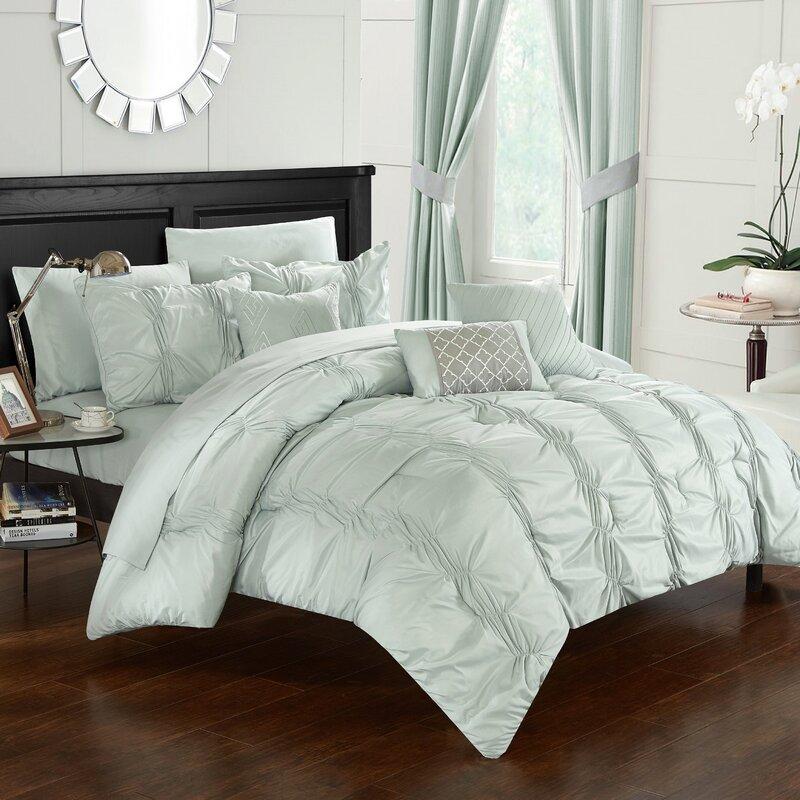 10 Piece Tiffany Comforter Set