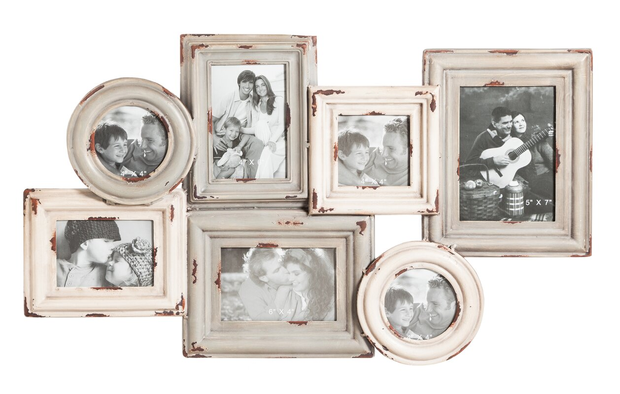 August grove multi opening metal hanging picture frame reviews multi opening metal hanging picture frame jeuxipadfo Images