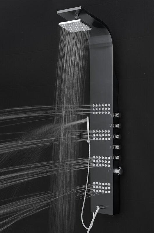 Rain Shower Head Shower Panel