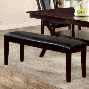 evesham upholstered dining bench
