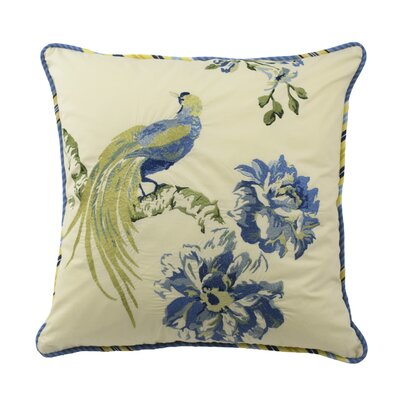 floral engagement 100 cotton throw pillow
