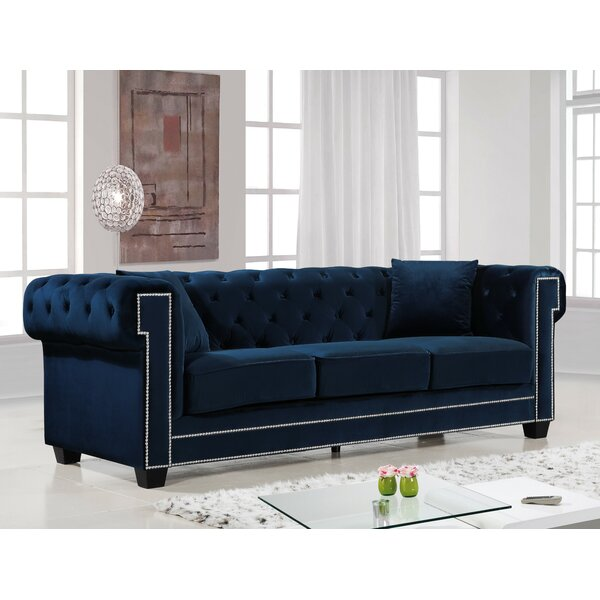 Willa Arlo Interiors Hilaire Chesterfield Sofa & Reviews | Wayfair