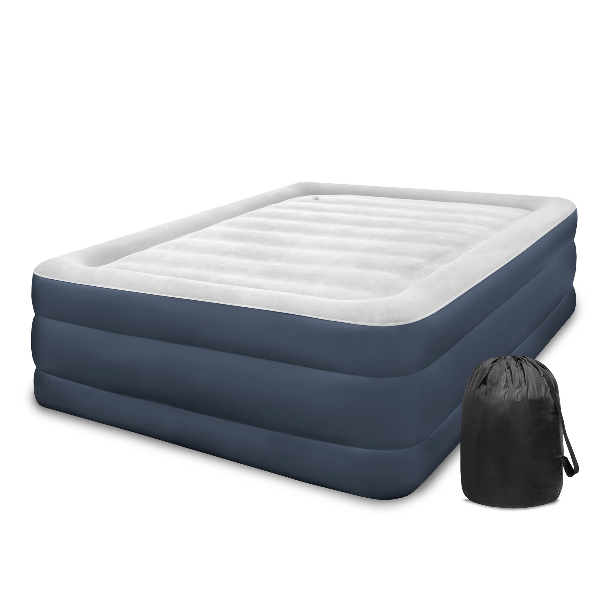 bw home mattress pump air electric premium itm inflatable in beds queen bed b camping bestway built