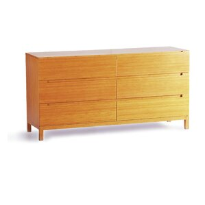 Orchid 6 Drawer Dresser by Greenington