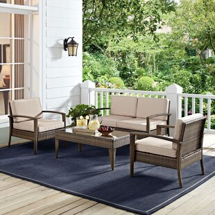 Hampton Bay Patio Set 4 Piece Wayfair