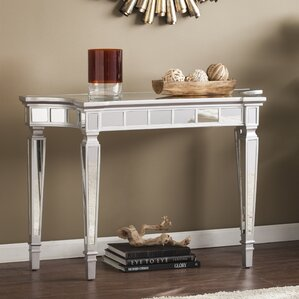 Lucinda Mirrored Console Table