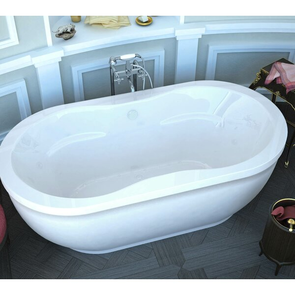 Freestanding Tub With Air Jets Wayfair