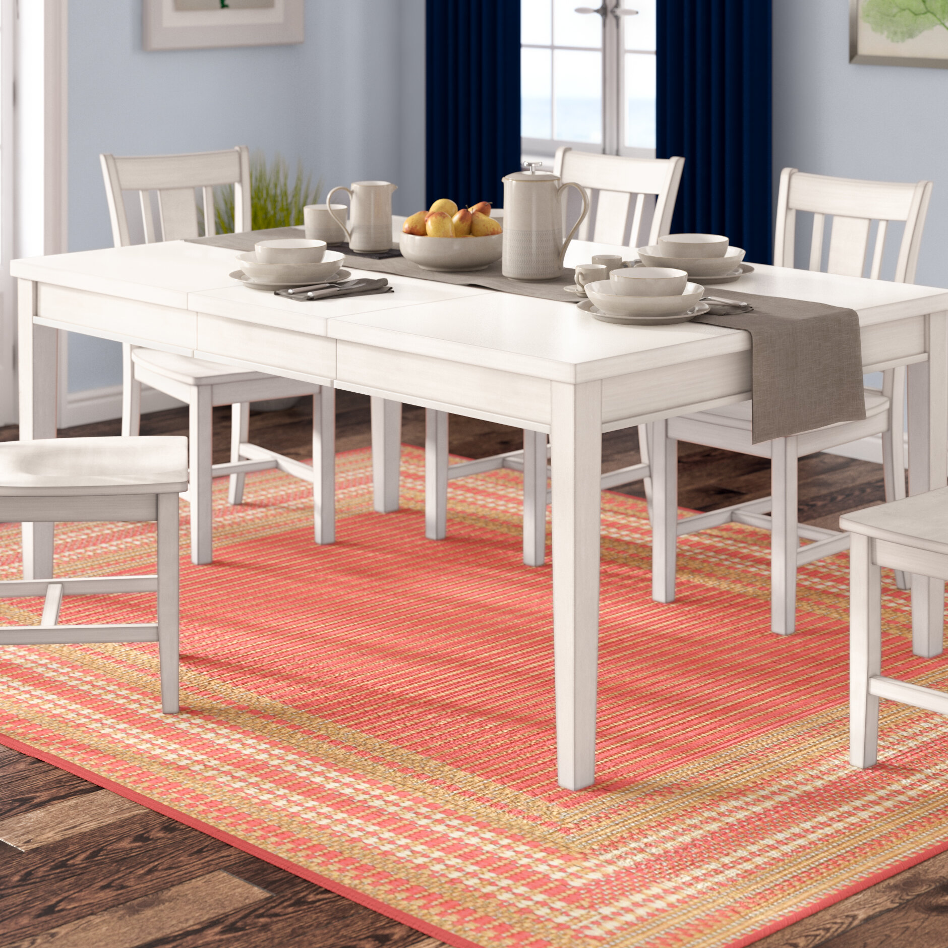 Beachcrest Home Silver Springs Extendable Dining Table & Reviews -