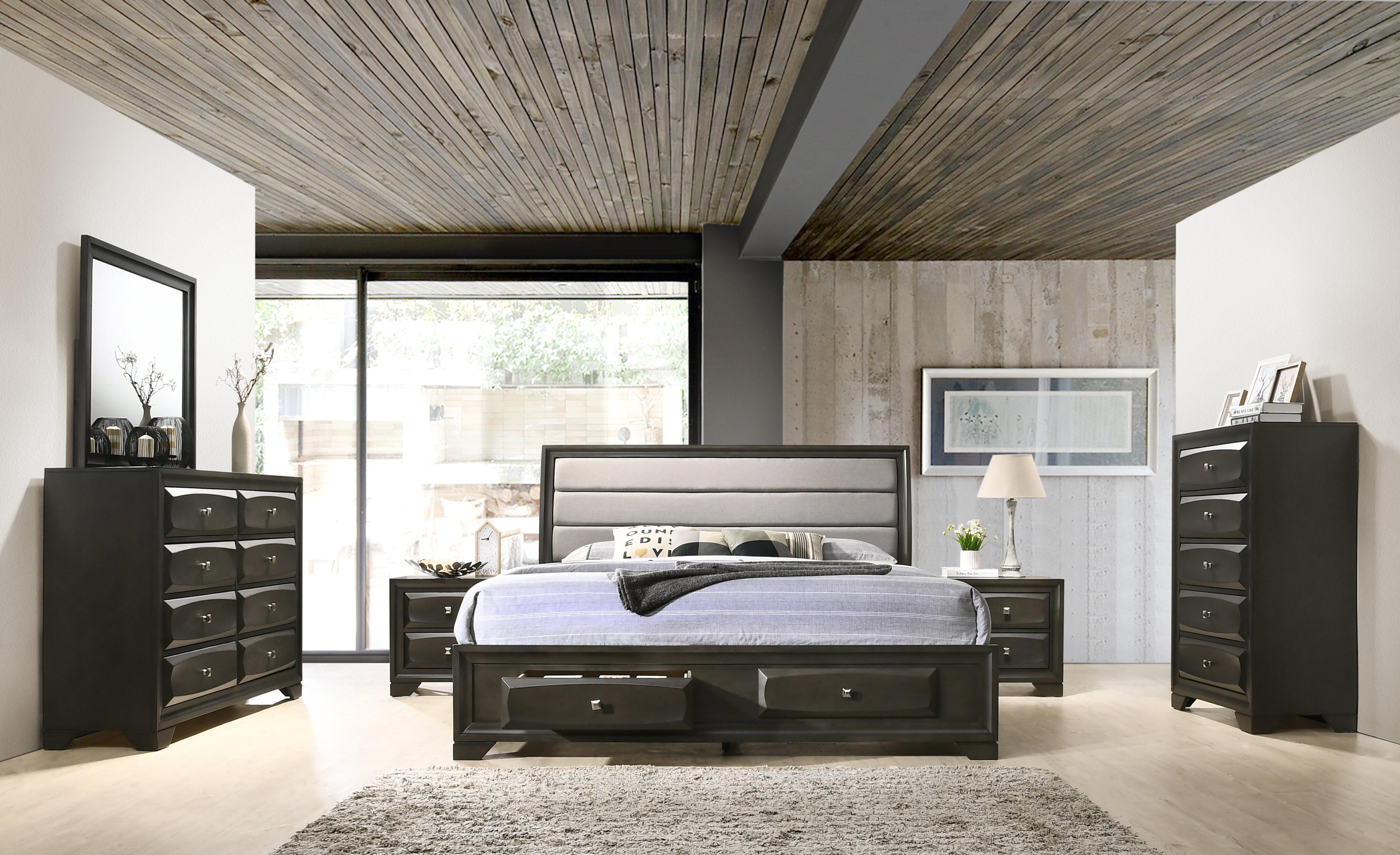 Gauch Platform 6 Piece Bedroom Set