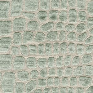 Amazonia Hand-Tufted Teal/Gray Area Rug