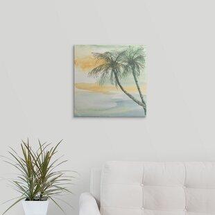 U0027Island Sunset IIu0027 Chris Paschke Painting Print