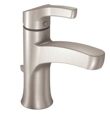 moen danika single handle bathroom faucet & reviews | wayfair