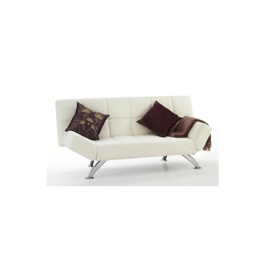 Home haus boswell 3 seater clic clac sofa bed reviews for Clic clac housse