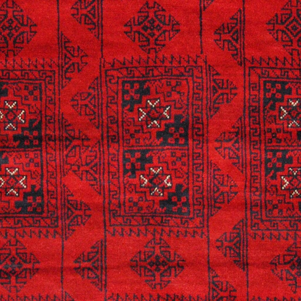Herat Oriental Balouchi Red/Black Indoor/Outdoor Area Rug : Wayfair.ca