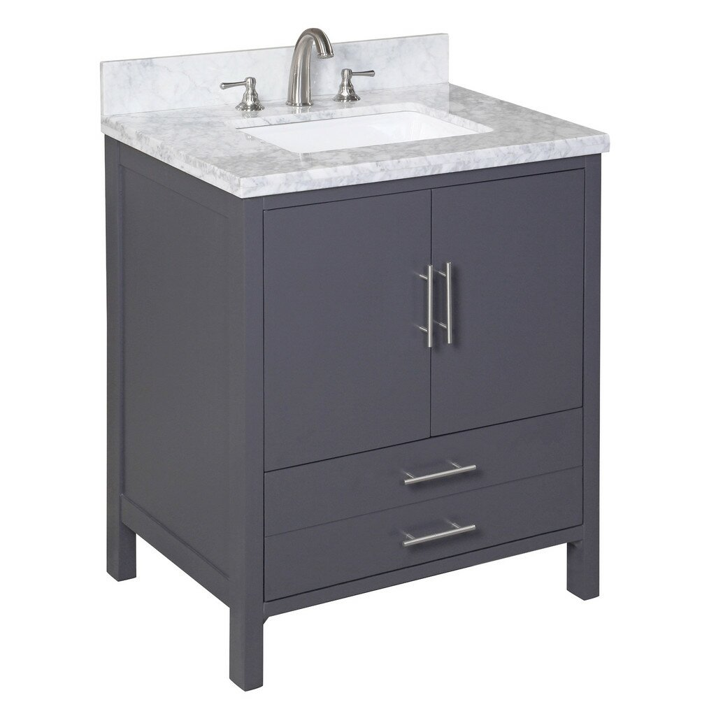 Kbc California 30 Quot Single Bathroom Vanity Set Amp Reviews