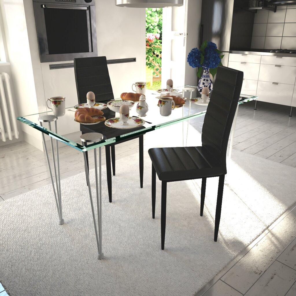 Dcor design polsterstuhl set for Design polsterstuhl