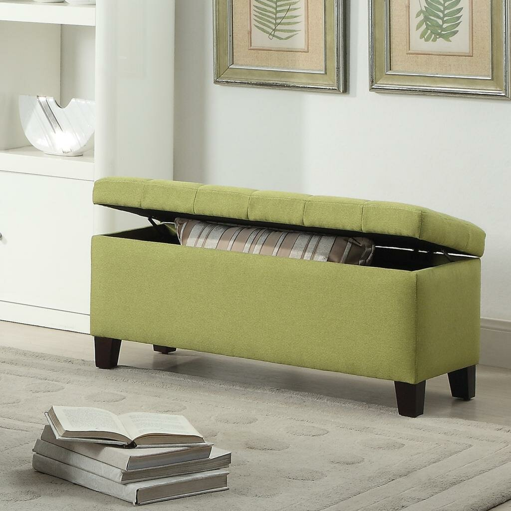 Reginald Fabric Storage Ottoman - Zipcode™ Design Reginald Fabric Storage Ottoman & Reviews Wayfair