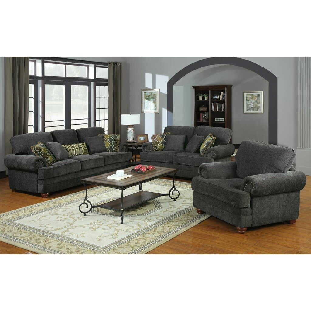Crawford Chenille Living Room Collection - Wildon Home ® Crawford Chenille Living Room Collection & Reviews
