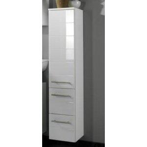 Rimini 25 X 130cm Wall Mounted Tall Bathroom Cabinet