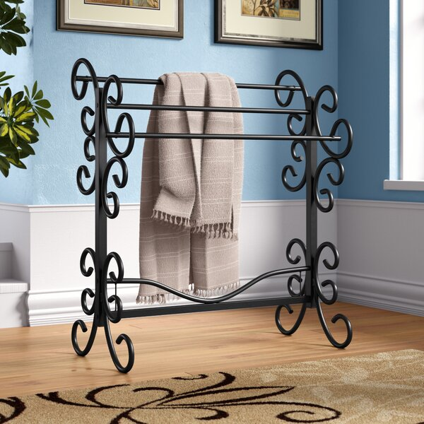 Fleur De Lis Living Metal Scroll Quilt Rack Amp Reviews