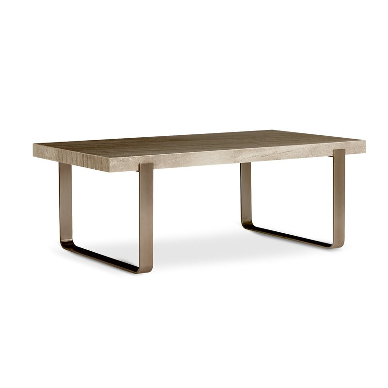 brass coffee table. Albright Brass Coffee Table