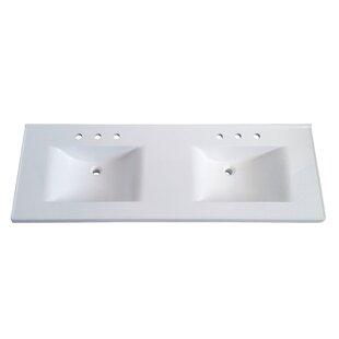 72 Inch Double Sink Vanity Top Wayfair