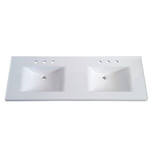 Premier 61 Double Bathroom Vanity Top