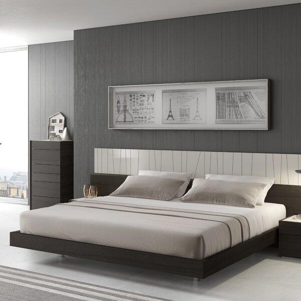 Elida Platform Bed & Reviews