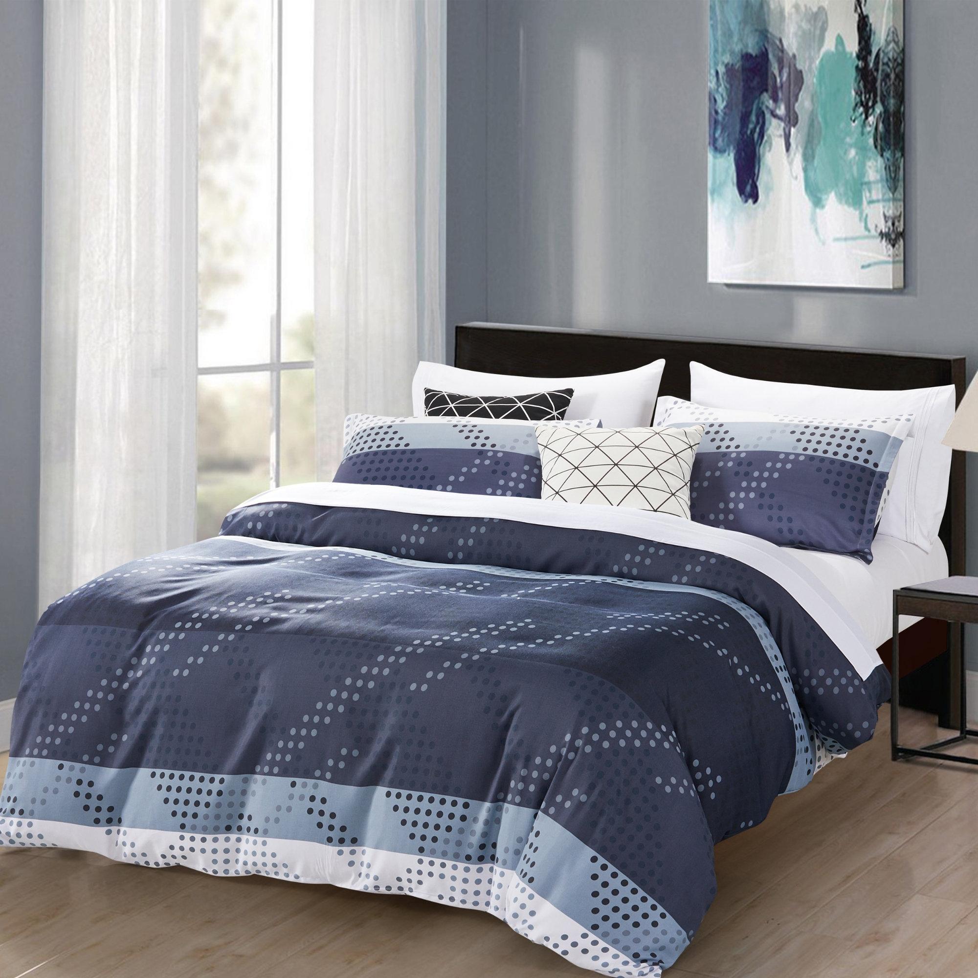 7febb06e01 Ebern Designs Steyning Monochromatic 3 Piece Duvet Cover Set | Wayfair