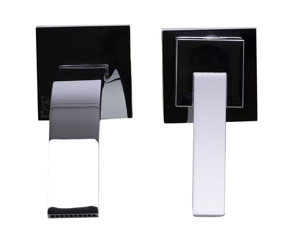 single handle wall mounted bathroom faucet