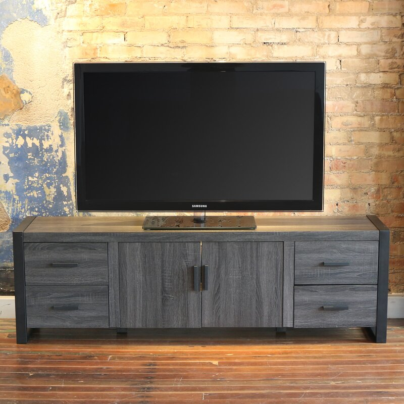 Mercury Row Theodulus Tv Stand For Tvs Up To 70 Reviews Wayfair