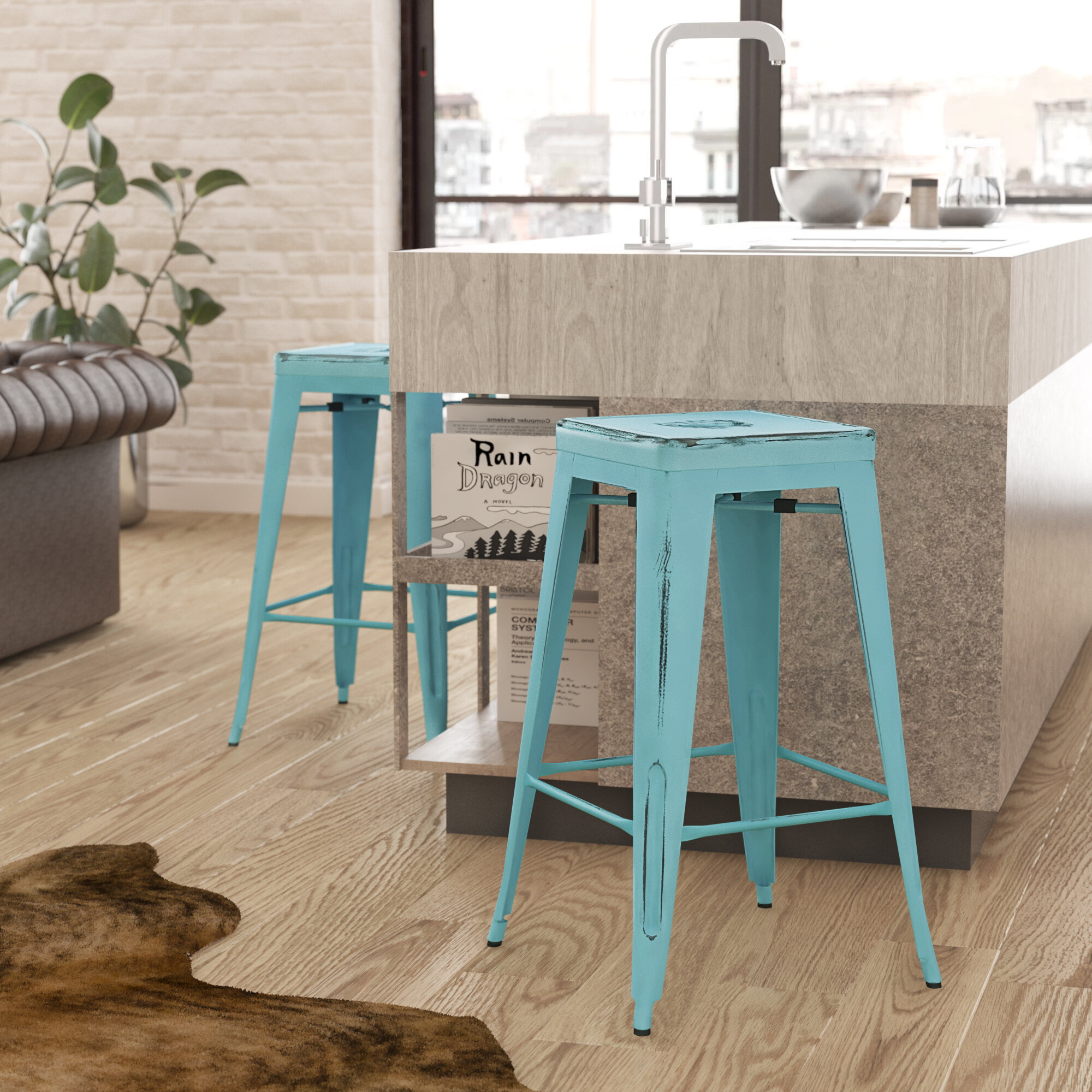 Surprising Trent Austin Design Fineview Bar Counter Stool Reviews Gmtry Best Dining Table And Chair Ideas Images Gmtryco