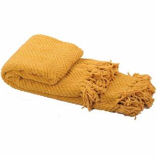 Chevron Yellow Gold Blankets Throws You Ll Love Wayfair