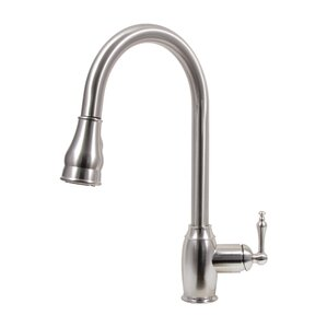 Dyconn Faucet Pull Down Dual Spray Single Handle Kitchen Faucet