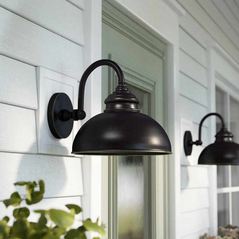 Andover Mills Percy Outdoor Barn Light & Reviews