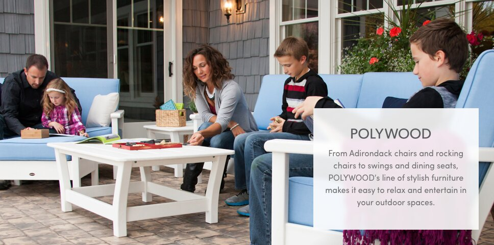 Since 1990, POLYWOOD Has Been The Leader In Low Maintenance, Casual Outdoor  Furniture Built To Withstand Extreme Weather Conditions.