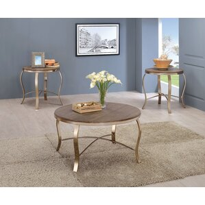 Glam Coffee Table Sets Youll Love Wayfair