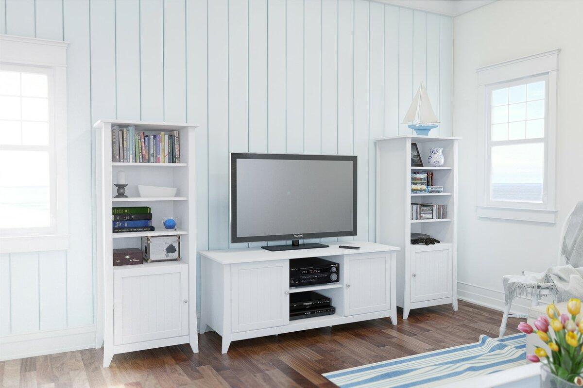 Beachcrest Home Hurst Entertainment Center & Reviews | Wayfair