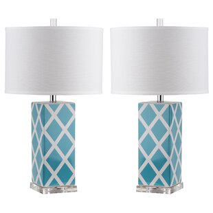 Teal Blue Table Lamps Wayfair