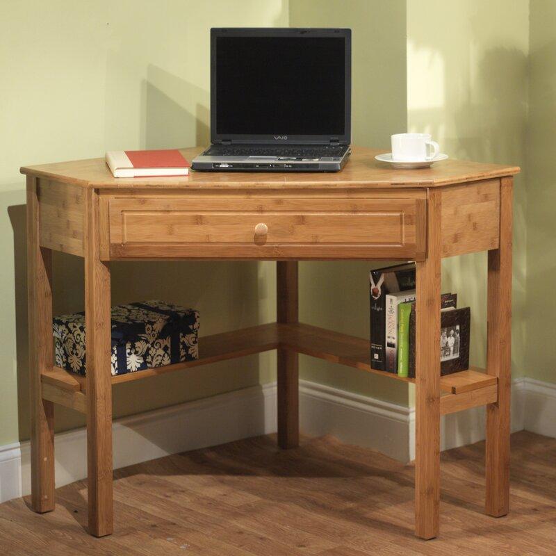Harley Solid Wood Corner Desk