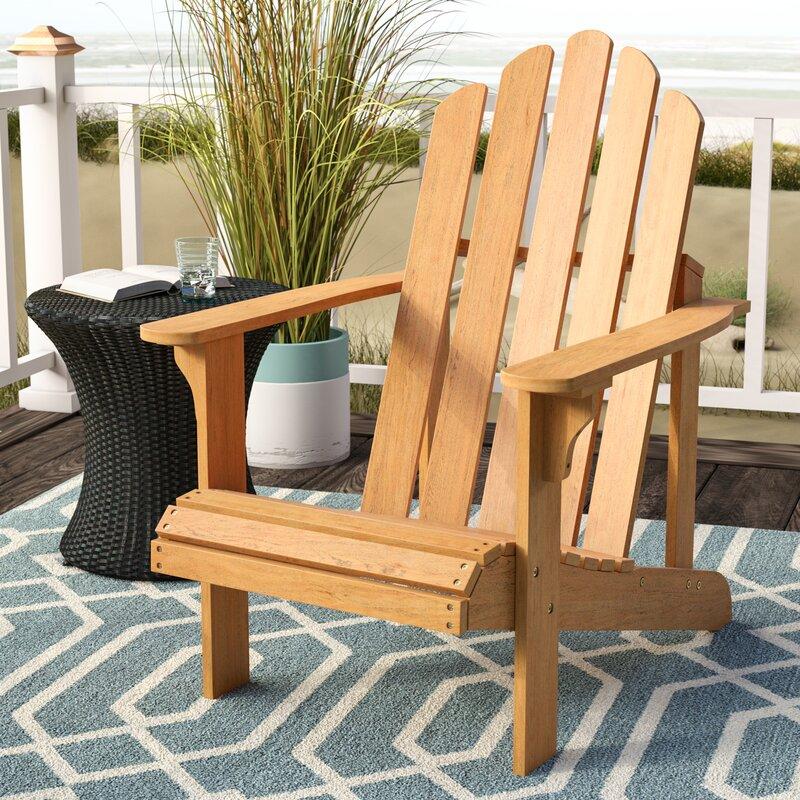 Burgess Solid Wood Adirondack Chair